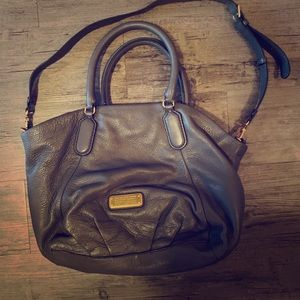 Marc by Marc Jacobs Charcoal leather handbag